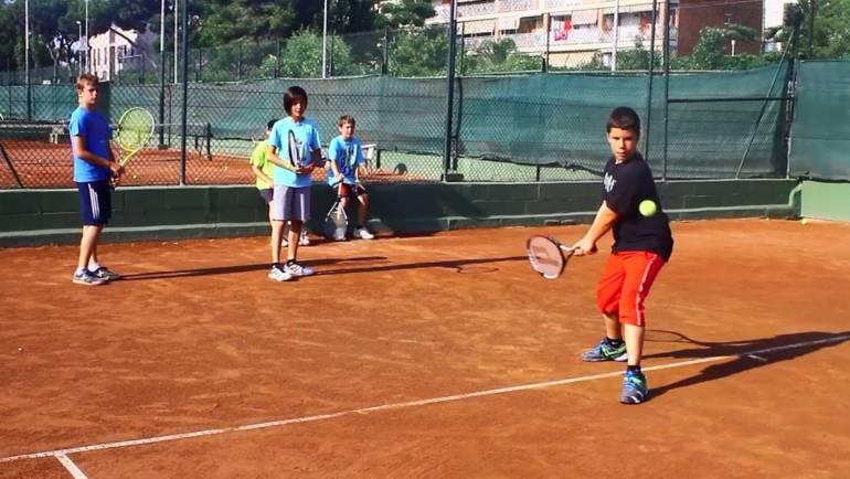 Padel school for kids