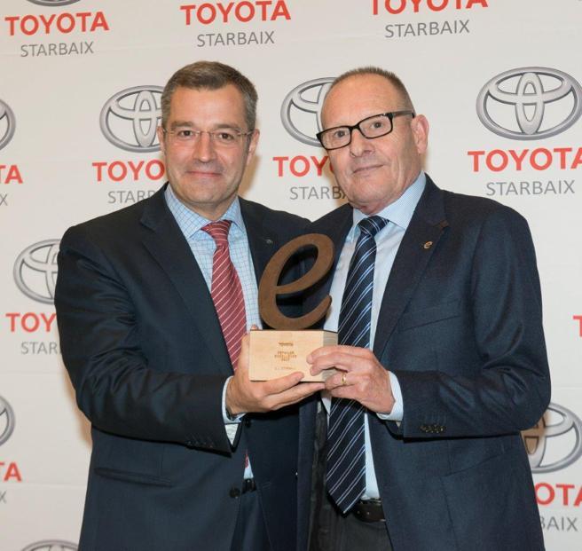 Toyota Starbaix recibe el premio Retailer Excellence 2017