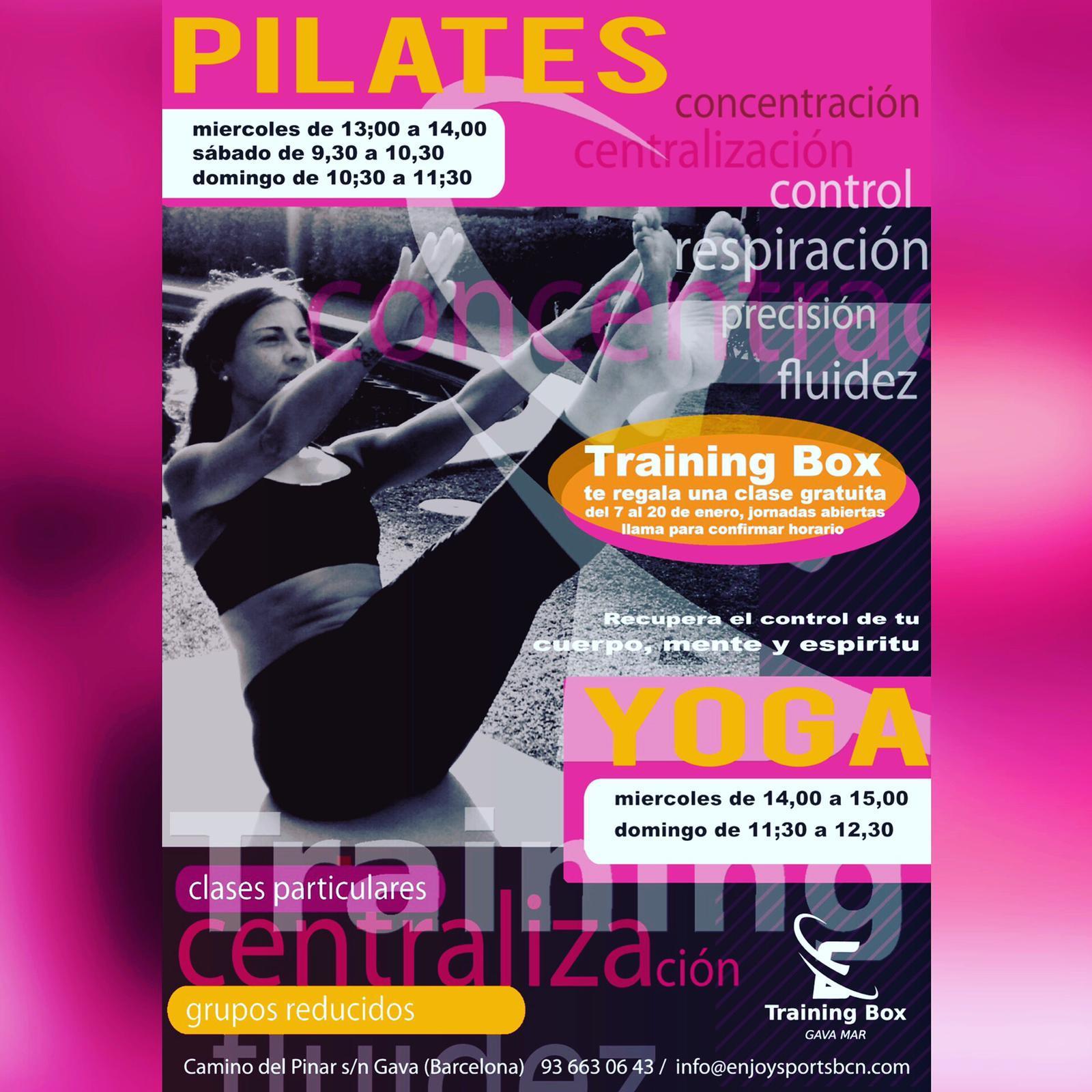 Nuevas Actividades Yoga Y Pilates Tenis Pineda Gavà